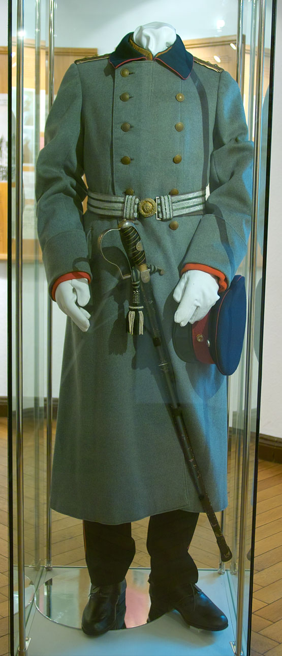 Uniform worn by Voigt on display Photo: wiki