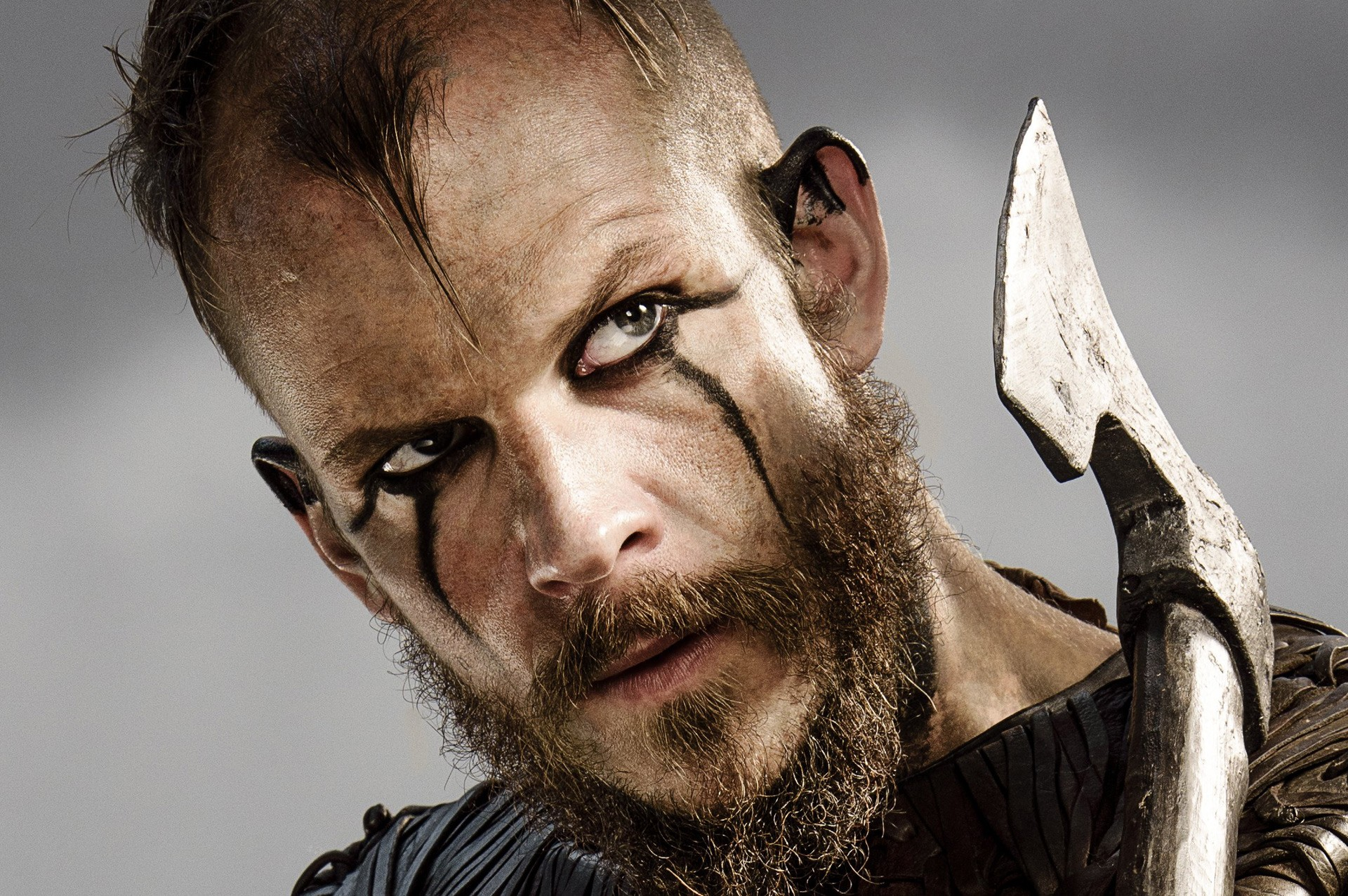 Historical Viking Face Paint