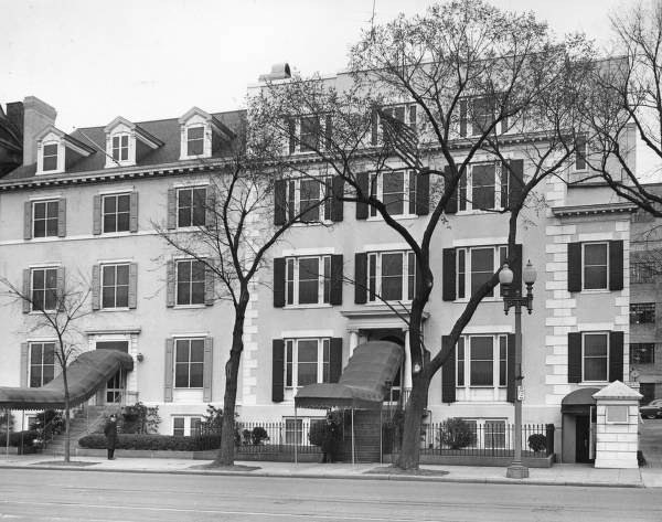 The Blair House where the attempt took place Photo: whitehousemuseum