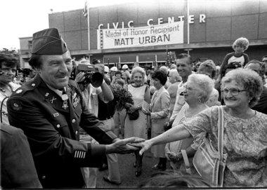 WWII Hero: Matt Urban ...