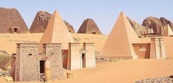 Nubian Pyramids [PHOTO: wikimedia]