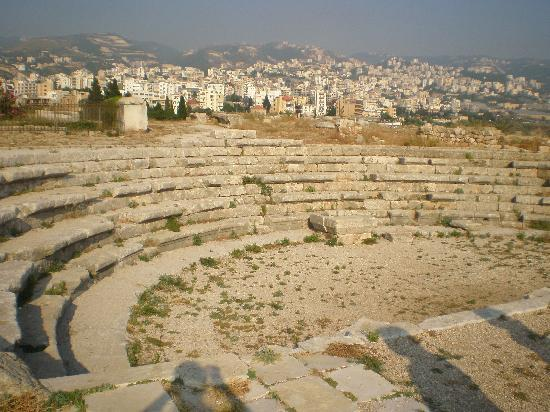 Ancient Greek amphitheater in Byblos. [PHOTO: tripadvisor.com]
