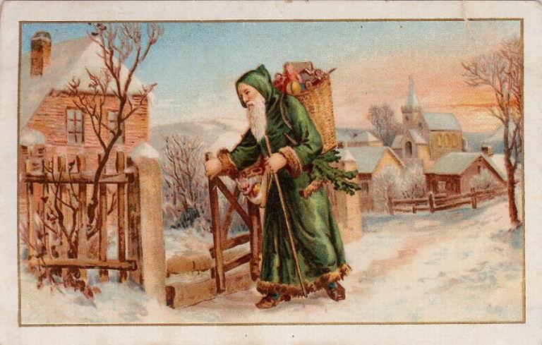 Who's Who?: Santa Claus, Saint Nick, and Father Christmas