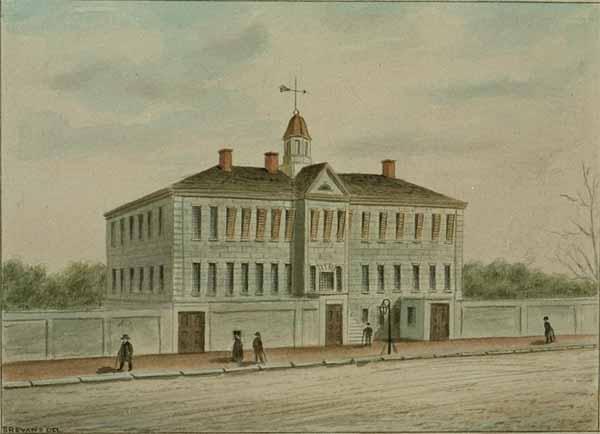 (Walnut prison, where Lyon was held   Source: h2g2.com)