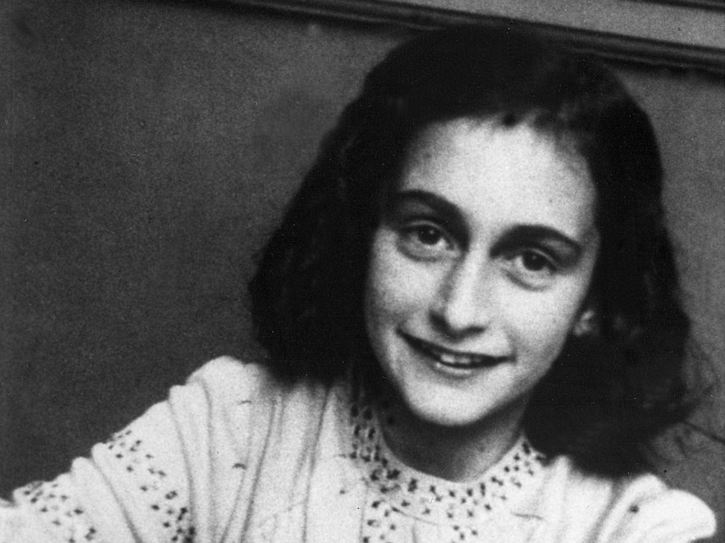Anne Frank. [PHOTO: independant.co.uk]