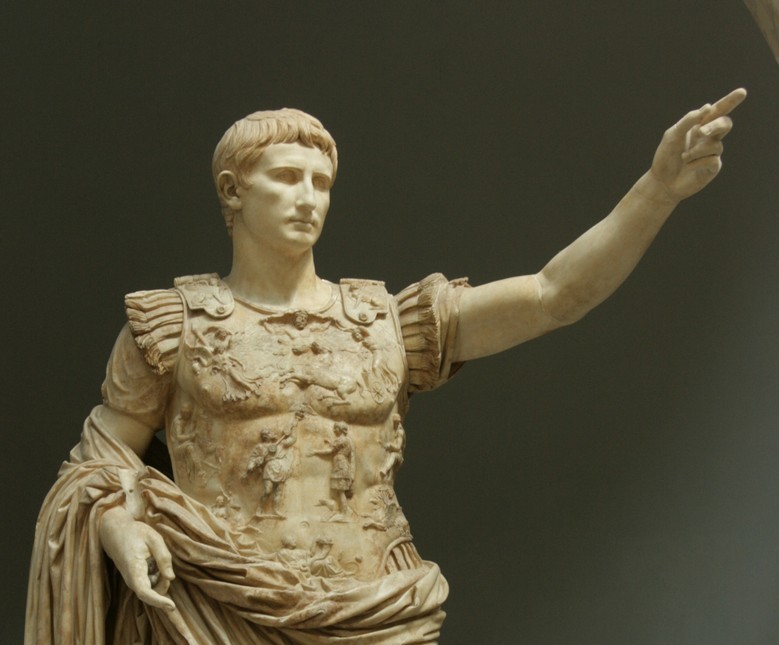 Augustus Caesar (Octavian) [PHOTO: shortbiography.com]