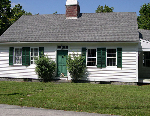Clara Barton's childhood home. [PHOTO: cityprofile.com]