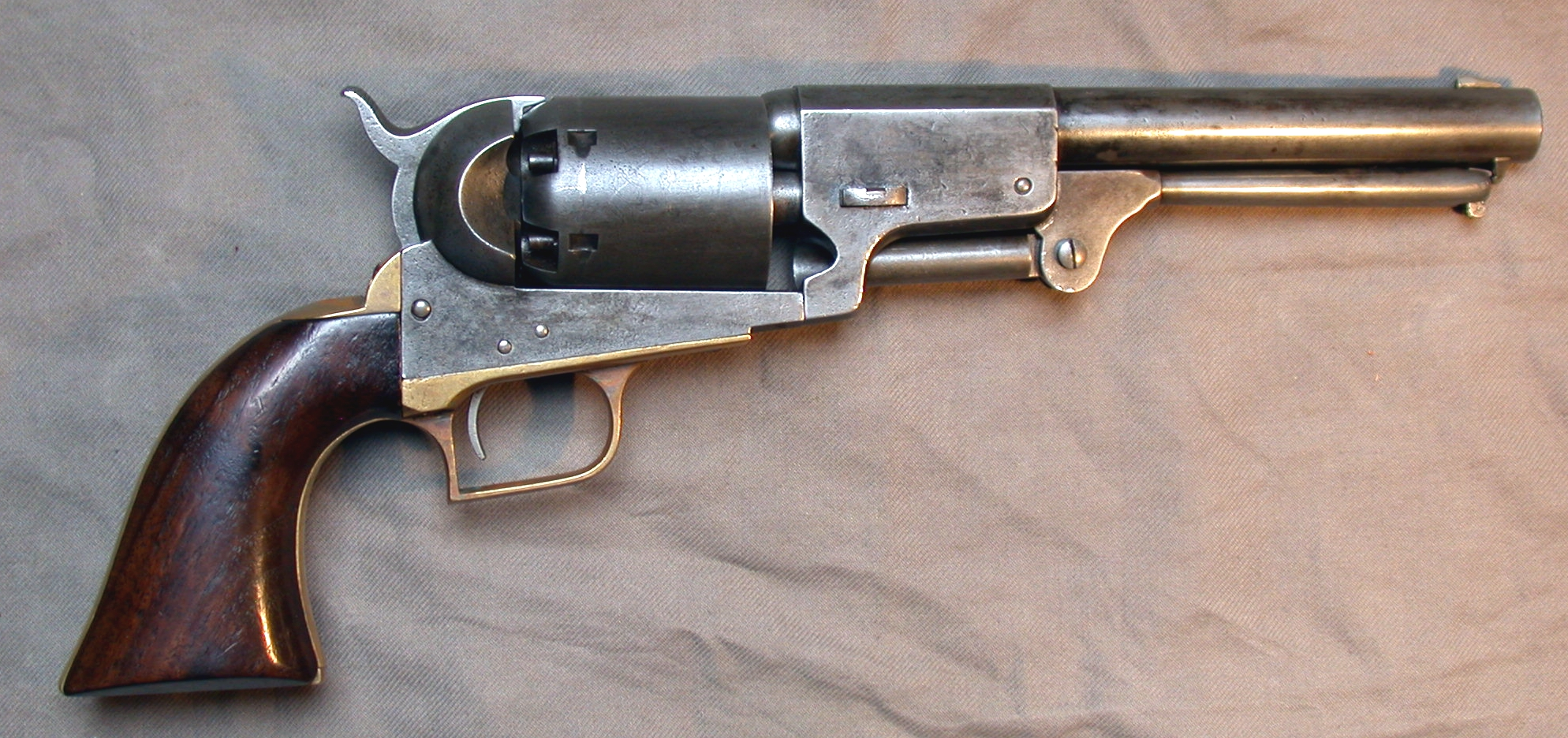 The Colt Walker revolver Photo: pinterest