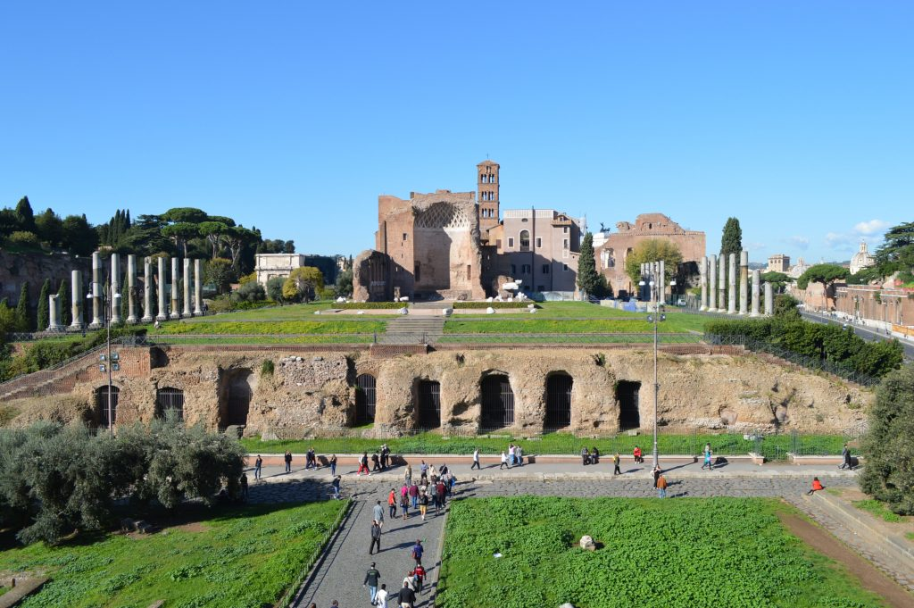 Palatine Hill today. [PHOTO: javanesewanderer.com]