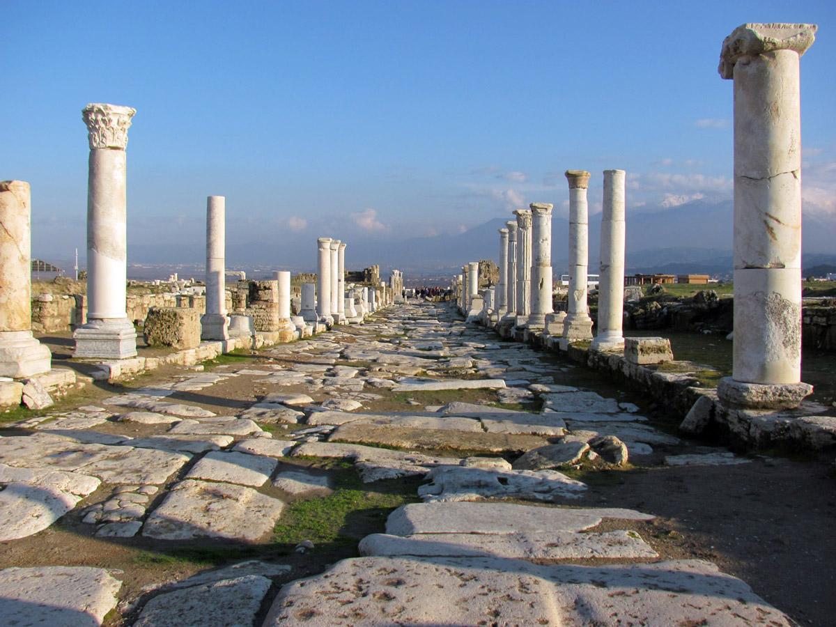 Laodiceas Sacred Agora