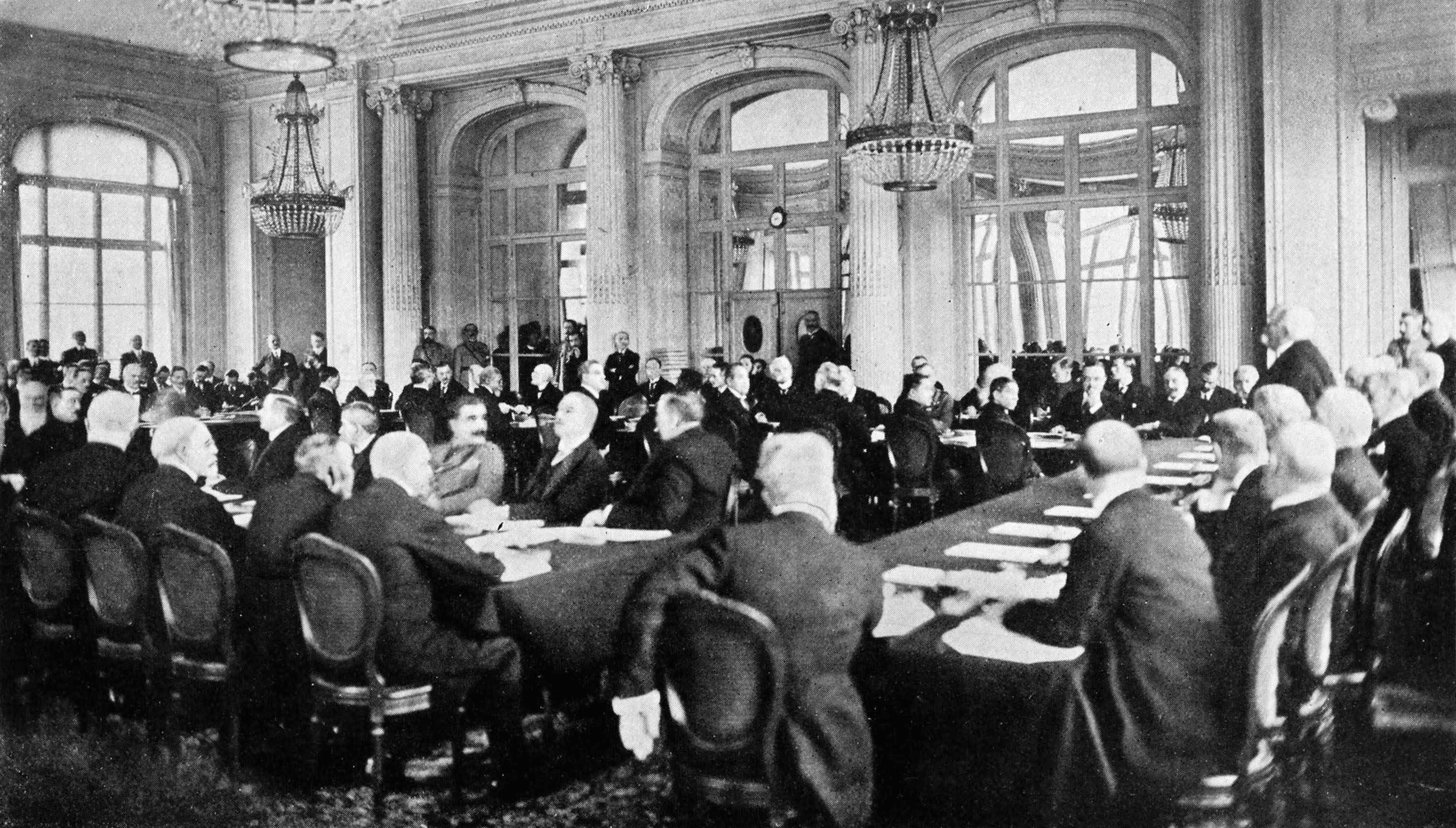 roleplay paris peace conference The paris peace conference january 18, 1919 in the fall of 1918, world war i had not officially ended, but the fighting had stopped.