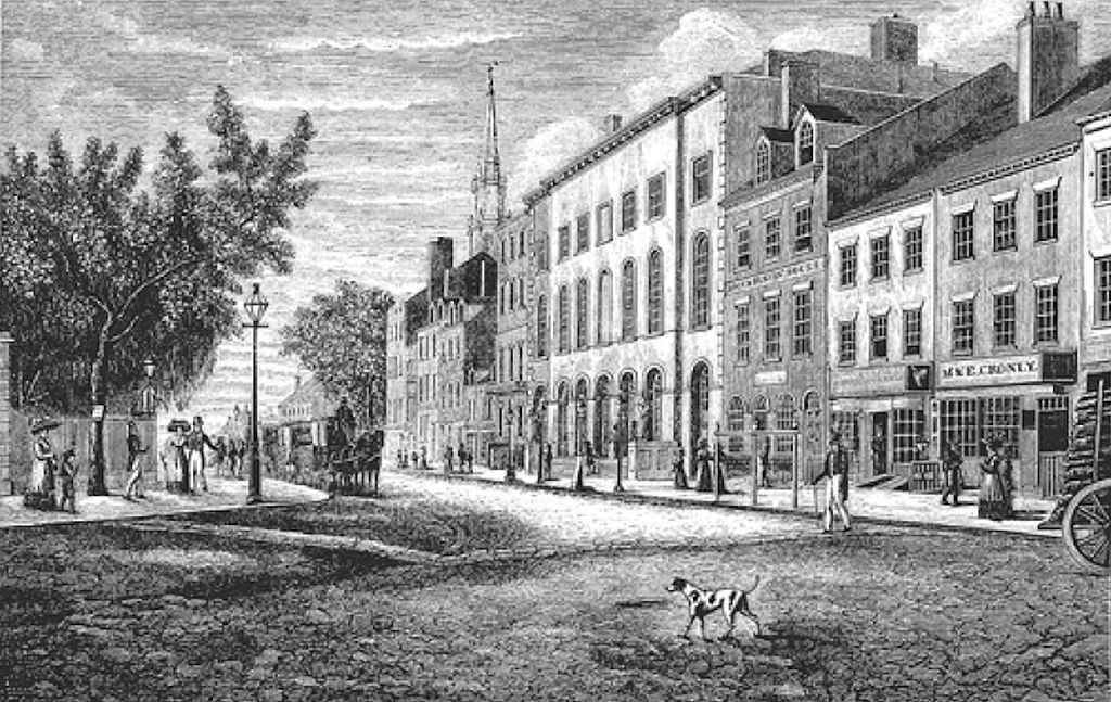 park_row_manhattan_looking_east_from_broadway
