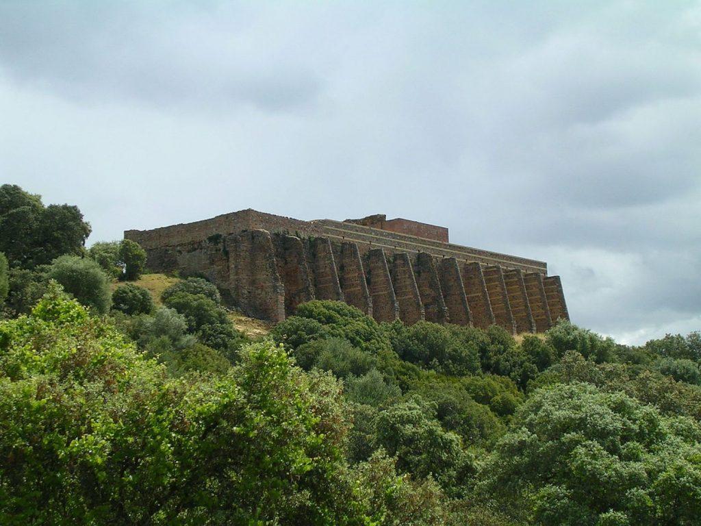 The castle of Mulva at Munigua. [PHOTO: haaretz.com]