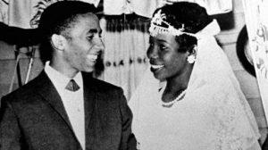 bob-marley-wife-rita-anderson-wedding-day-1966-children-kids