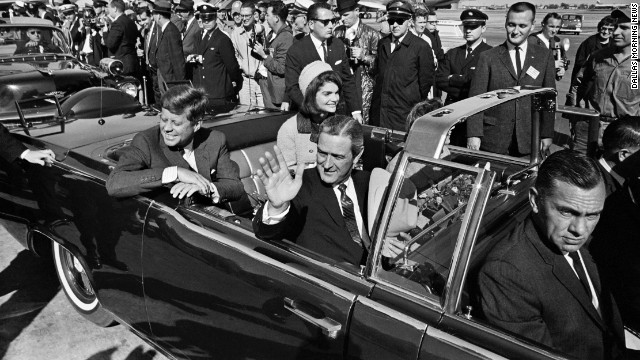 President Kennedy and his wife Jackie shortly before he was shot. Source: cnn.com