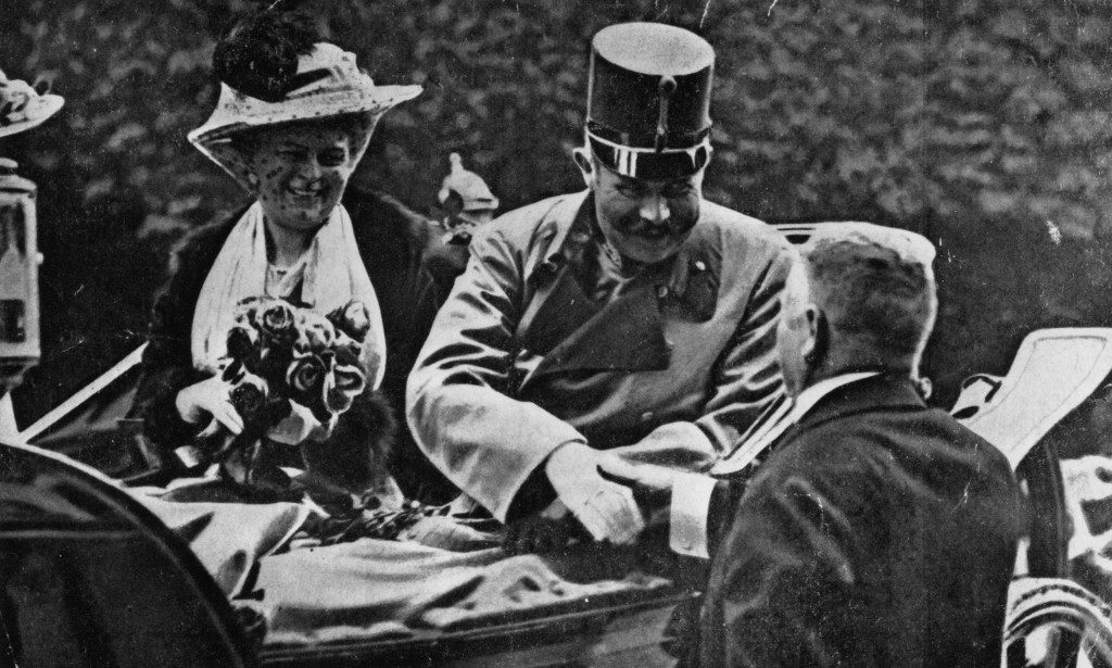 Archduke Franz Ferdinand and his wife Sophie shortly before they died. Source: pbs.org