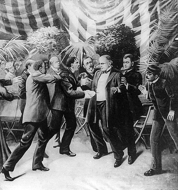 Assassination of William McKinley. Source: wikipedia.org
