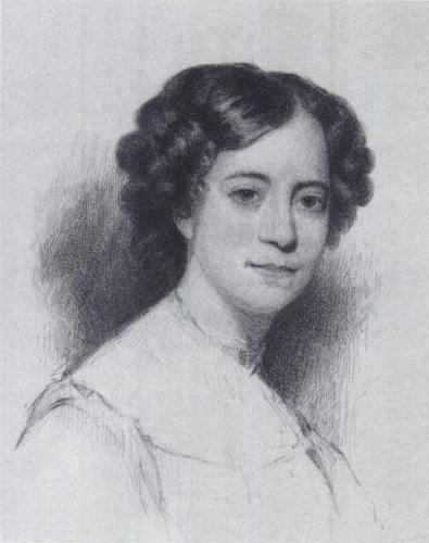 Hawthorne's wife, Sophia Peabody Hawthorne. Source: wikipedia.org