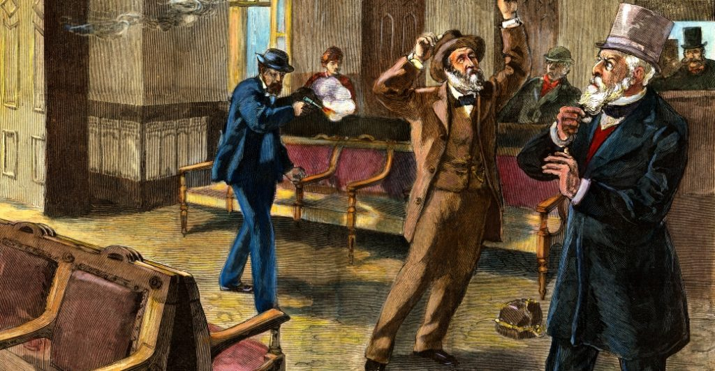 Garfield's assassination. Source: history.com