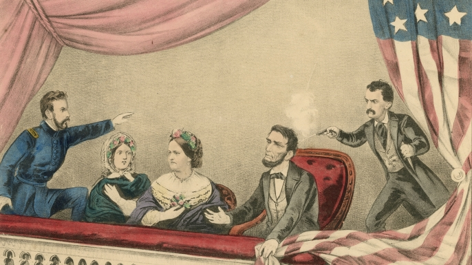 Lincoln's assassination. Source: history.com
