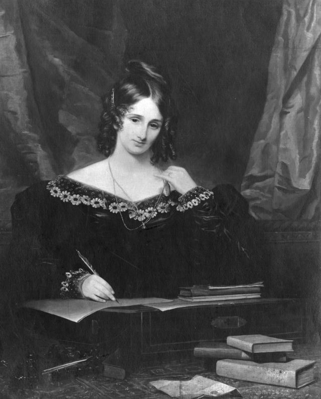 Mary Wollstonecraft Shelley. Source: biography.com